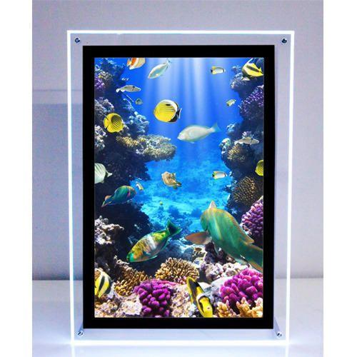 LED Display Frames - LED Magnetic Photo Frame Service Provider from ...