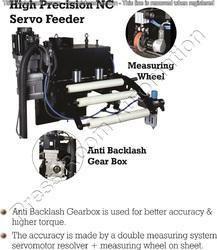 High Precision NC Servo Feeder with Anti Backlash Gear Box