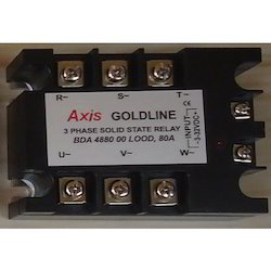 Axis 3 Phase 80 Amps Solid State Relay