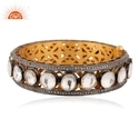 Gold Plated 925 Silver Bangle