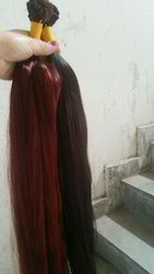 Dark Red Color Hair