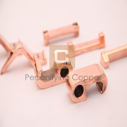 round copper forging