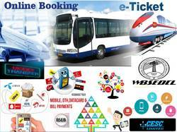 Wbsedcl, Cesc, LIC With IRCTC & Recharge Franchise