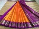 Silk Cotton Korvai Sarees