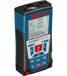Bosch Glm 250 VF Laser Distance Meter