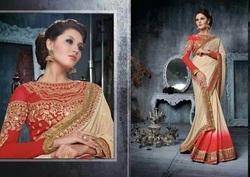 Selective Stylish Embroidered Sarees
