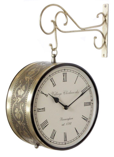Double Sided Station Clocks