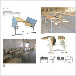 Sharing Study Desk Dual  / Lecture 01 / Dual (Foldable
