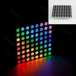 8x8点矩阵显示RGB