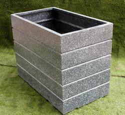 Cement Finish Planter (Rectangular)