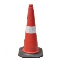Safety Cone - 750mm, 1000mm,Rubber Based,Hexa cone