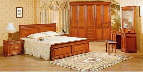 Delightful Wooden Bedroom Furniture Set