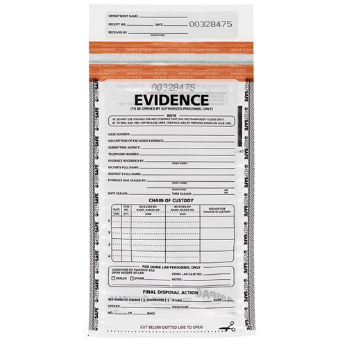 Tamper Proof Evidence Bags