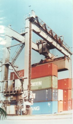 Container Handling Crane