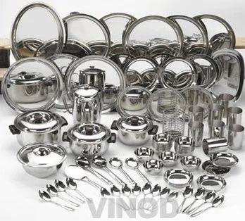 Stainless Steel Dinner Set Manufacturer From New Delhi