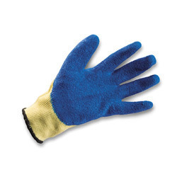 Seamles Kevlar with Rubber Coated Gloves High Cut Resistant