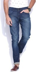 men stylish rugged denim jeans