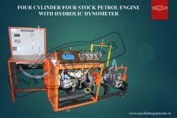 Three Cylinder Petrol Engine Test Rig