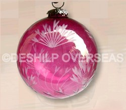 Luster Color Christmas Ornaments