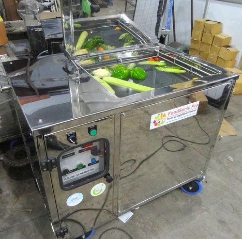 Ozone and Ultrasonic Vegetable Washer