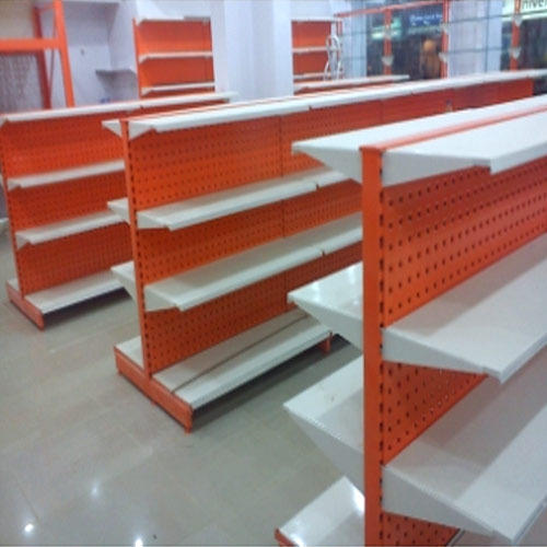 Supermarket Double Sided Shelves