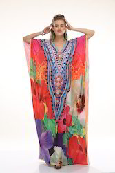 Kaftan Digital Printed