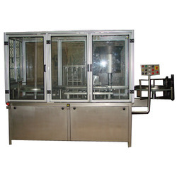 Automatic Vial Filling Stoppering Machine