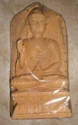 Wooden Young Buddha Statue