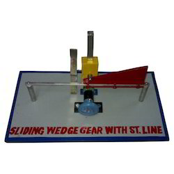 Sliding Wedge Gear With Straight Line Model