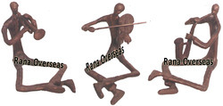 Metal Musical Traditional Figurines