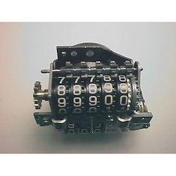 Plastic Numbering Wheel Gears