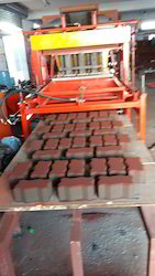10 Brick Automatic Color Paver Fly Ash Block Machine