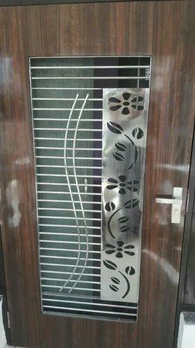 Steel Door Grill Main Door Grill Manufacturer From Ahmedabad