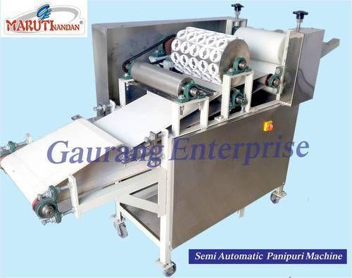 Fully Automatic Pani Puri Making Machin