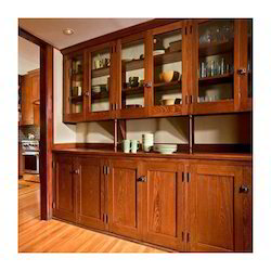 Teak Wood Kitchen
