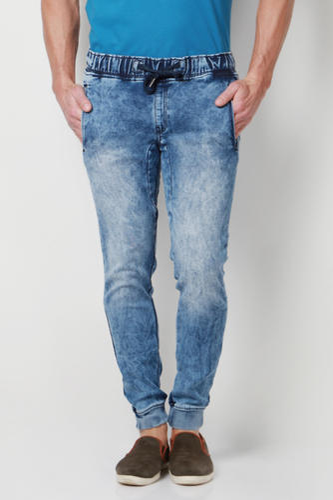 9968836fb Peter England Blue Jogger Jeans, पीटर इंग्लेंवॉट की ...