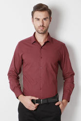 Peter England Maroon Shirt