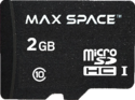 Maxspace 2 Gb Sdhc Memory Card With Adapter