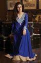 Nizaam Anarkali Royal Blue Suit