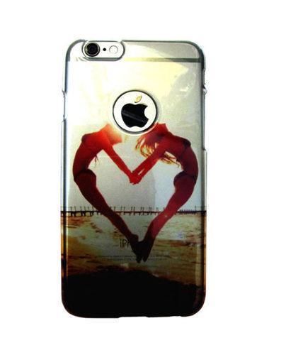 online retailer fa19d 0a7de Love Heart Back Cover For Iphone 6 6s