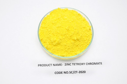 Anti-Corrosive Pigments - Zinc Chromete Pigments Manufacturer from Vapi