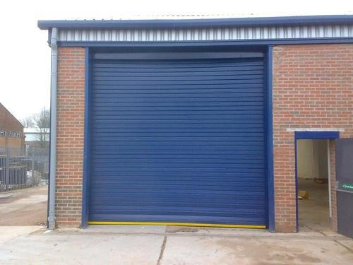 Full Height Automatic Remote Rolling Shutter