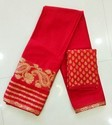 Pure Chiffon Kanjivaram Banarasi Saree