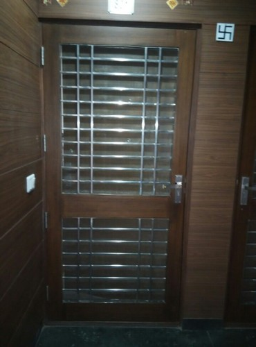 Grill door grill custom ornamental door grill gr6011 Grill main door design