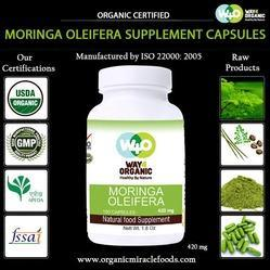 Natural Moringa Capsules(420 mg)