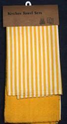 Striped Design Tea Towel