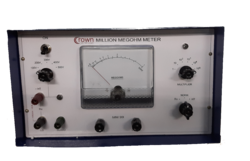 Million Mega Ohm Meter