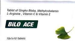 Gingko Bloba Methylcobalamin L- Arginine, Vit- C & Vit- E