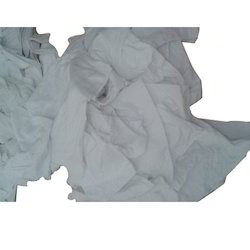 White Banian Cloth Waste, Packaging Size: 50kgs Per Bandle
