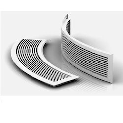 Air Conditioning Rounded Grilles